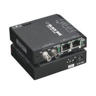Black Box Hardened Media Converter Switch, 10-/100-Mbps Copper to 100-Mbps Fiber LBH100AE-H-ST