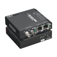 Black Box Hardened Media Converter Switch, 10/-100-Mbps Copper to 100-Mbps Fiber LBH100A-H-SC