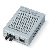 Black Box AutoCross Media Converter, 100BASE-TX to Duplex 100BASE-FX, Multimode LH2001A-ST-R3