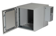 Black Box ClimateCab NEMA 12 Wallmount Cabinet with 800-BTU Air-Conditioner, Bei RMW5110AC-R2