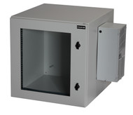 Black Box ClimateCab NEMA 12 Wallmount Cabinet with 800-BTU Air-Conditioner, Bei RMW5130AC-R2