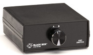 Black Box ABC-25 (2 to 1) Switch, 25 Leads, Serial or Parallel (for PC Users), C SWL025A-MMM