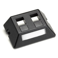 Black Box Modular Furniture Faceplate for Steelcase, Haworth, HON, and Knoll Fur WP459-MF