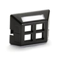 Black Box Modular Furniture Faceplate for Steelcase, Haworth, HON, and Knoll Fur WP471-MF