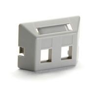 Black Box Modular Furniture Faceplate for Steelcase, Haworth, HON, and Knoll Fur WP461-MF