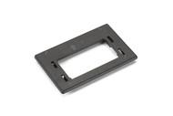 Black Box GigaBase2 Modular Furniture Reducer Plate for Herman Miller, Black WPTRP-BK
