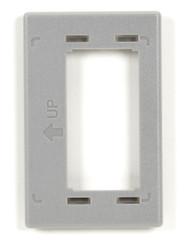Black Box GigaBase2 Modular Furniture Reducer Plate for Herman Miller, Gray WPTRP-GY