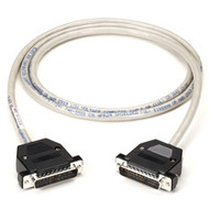 Black Box Extended-Distance Null-Modem Cable, Foil Shielded with Drain Wire, DB2 EYN251-0025-MM