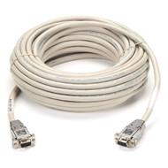 Black Box DB9 Serial Null-Modem Cable, DB9 Female/DB9 Female, 10-ft. (3.0-m) EYN257T-0010-FF