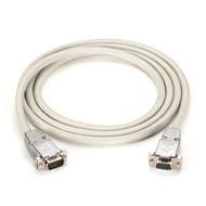 Black Box DB9 Serial Null-Modem Cable - DB9 Male/DB9 Male, 15-ft. EYN257T-0015-MM