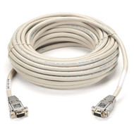 Black Box DB9 Serial Null-Modem Cable, DB9 Female/DB9 Female, 25-ft. (7.6-m) EYN257T-0025-FF