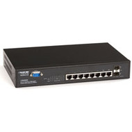Black Box PoE L2 Managed Gigabit Switch with (6) 1000BASE-TX Ports, (2) Dual-Med LPB4008A