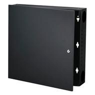 Black Box Wallmount Cabinet - 2U, Black RM425A-R3