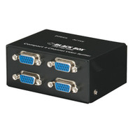 Black Box Compact VGA Video Splitter, 4-Channel AC1056A-4