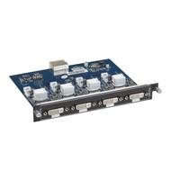 Black Box Modular Video Matrix Switcher Input Card - DVI-I Universal DVI, HDMI, AVS-4I-UNI