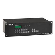 Black Box DVI Matrix Switch - 8 x 8 with Audio AVSW-DVI8X8