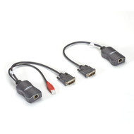 Black Box Line-Powered Extender Kit - DVI over CATx AVU8011A