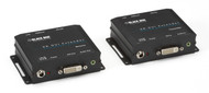 Black Box XR DVI-D Extender with Audio, RS-232, and HDCP AVX-DVI-TP-100M