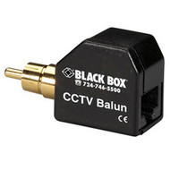 Black Box CCTV Balun with RCA Connector IC444A-RCA