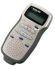 Black Box Mobile Digital Dictation Recorder TE130A