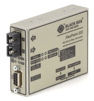 Black Box FlexPoint RS-232 to Fiber Converter, 850-nm Multimode, 2.5 km, SC ME660A-MSC