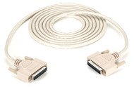 Black Box DB25 Extension Cable, DB25 Male, DB25 Male, 10-ft. (3.0-m) BC00706