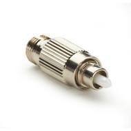 Black Box Fiber Optic In-Line Attenuator, Single-Mode, Male/Female, FC, APC, 20 FOAT55S1-FC-20DB