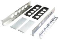 Black Box Equipment Mounting Rails, 2U, 2-Post EMR2-2U
