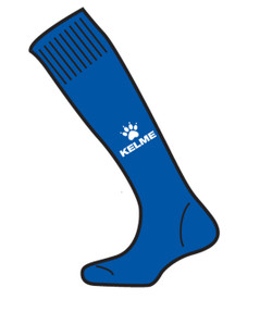 Garra Sock Royal/White