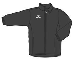 Aires Rain Jacket Black/White