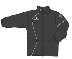 Garra Rain Jacket Black/White