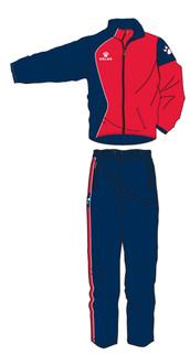 Garra Tracksuit Navy/Red