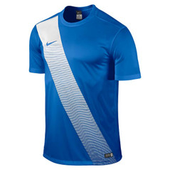 SASH JERSEY S/S ROYAL BLUE/WHITE [FROM: $32.20]