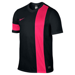STRIKER III JERSEY S/S BLACK/VOLTAGE CHERRY