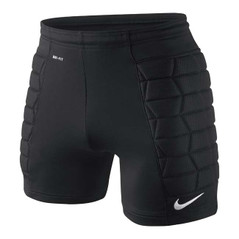 PADDED GOALIE SHORT BLACK