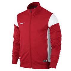 ACADEMY 14 SIDELINE KNIT JACKET UNIVERISTY RED/WHITE