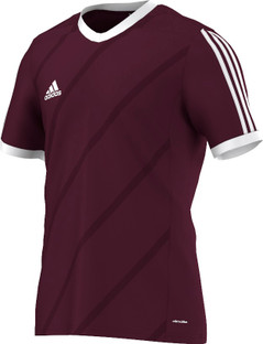 TABE 14 JSY LIGHT MAROON/WHITE