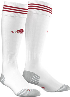 ADI SOCK 18 WHITE/POWER RED [FROM: $11.90]