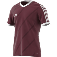 TABE 14 JSY COLLEGIATEBURGUNDY/WHITE