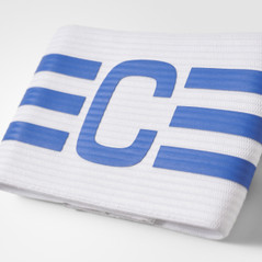 FB CAPT ARMBAND WHITE/BLUE
