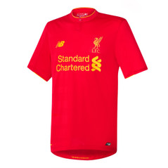 LIVERPOOL HOME 16/17 JERSEY YTH RED/YELLOW
