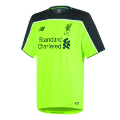 LIVERPOOL THIRD 16/17 JERSEY NEON GREEN/GREY
