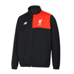 LIVERPOOL TRACK JACKET BLACK/RED