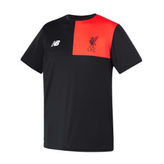 LIVERPOOL TRAINING TOP BLACK/RED