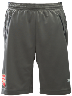 ARSENAL TRAINING SHORTS GREY