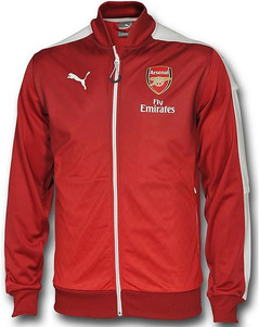 ARSENAL STADIUM JACKET RED