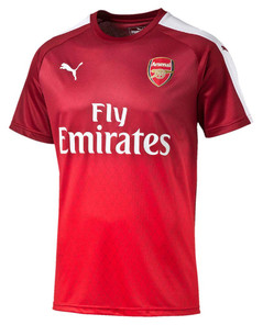 ARSENAL STADIUM T-SHIRT S/S RED