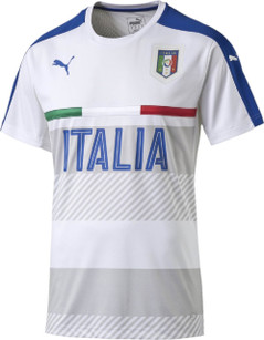 ITALY TRAINING JERSEY WHITE