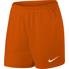 PARK II WOMENS SHORT ORANGE