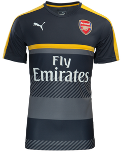 ARSENAL TRAINING JERSEY S/S GREY